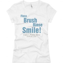 Floss Brush Rinse Smile