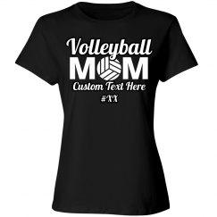 Mom Volleyball Custom Shirt