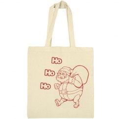 Christmas Canvas Tote Bag