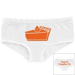 Easy As Pumpkin Pie Panty