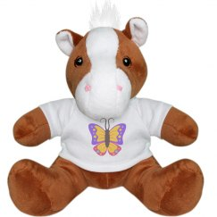 Butterfly Small Plush Pony