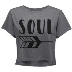 Soul crop top for juniors