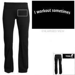 workout sometimes