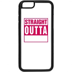 Straight Outta iPhone 4 Case