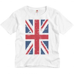 UK Flag Distressed T