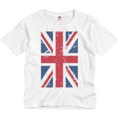 UK Flag Distressed T