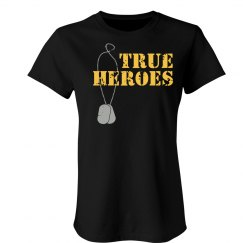 True Heroes Distress T