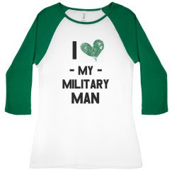 I Heart My Military Man