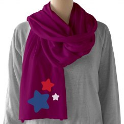 Patriot Star Scarf