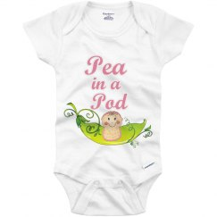 Pea in a Pod Onesie