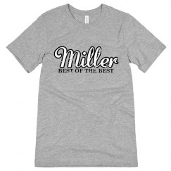 Miller. The best of the best