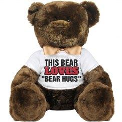 I love Bear Hugs!