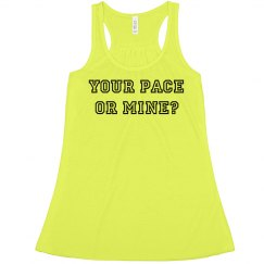 Funny Running Pace Tank