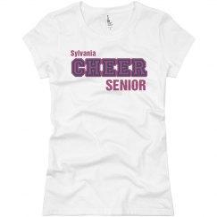 Cheer Center Pink Tee