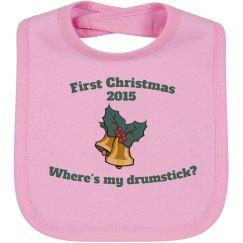 1st Christmas - Pink