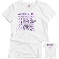 Alzheimer's Walk Misses T