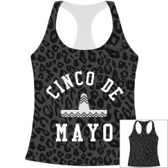 Cinco De Mayo Jaguar Print Pattern