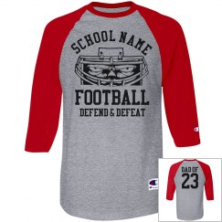 Custom Football Dad Pride