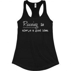 Running is always tank