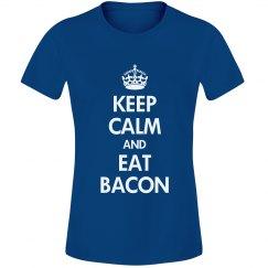 Keep calm eat bacon