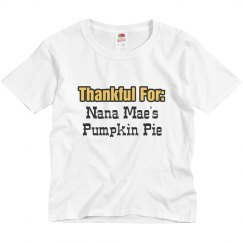 Thankful For Nana's Pie