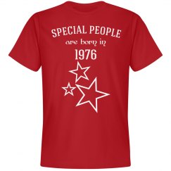 Special people are born in 1976