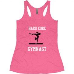 Hard core gymnast
