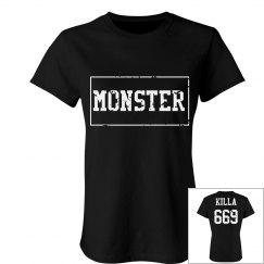 'Monster Killa 669' tee.