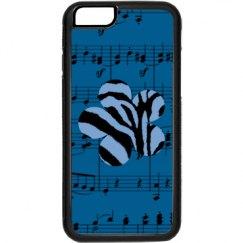 Blue & Black Flower SheetMusic