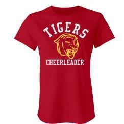 Tigers Cheerleader