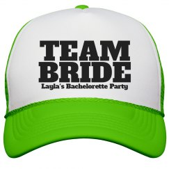 Layla's bachelorette cap