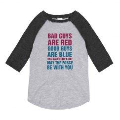 White Bad Guys Are Red Valentine's