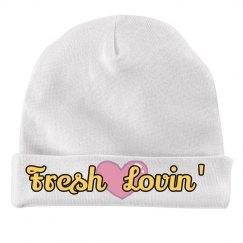 Fresh Lovin' White Beanie