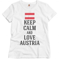 Keep calm love austria