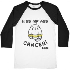 Men's Kiss My Ass CANCER