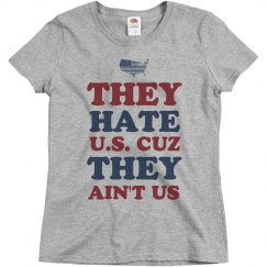 Hate U.S. Because They Ain't Us