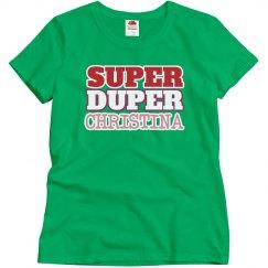 Super Duper Christina