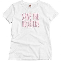 save the hooters tee