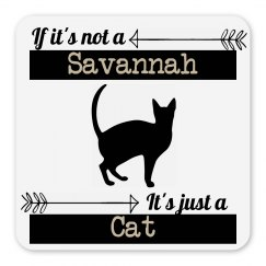 Snarky Savannah Cat