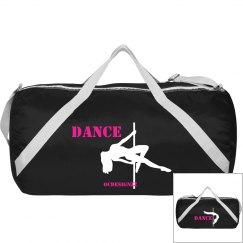 Pole Dancer Duffle Bag
