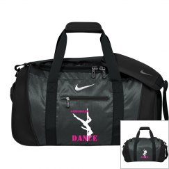 Pole Dancer Nike Duffle Bag