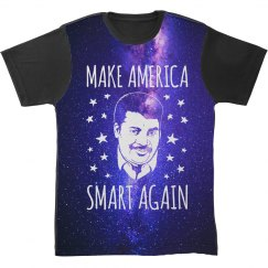Make America Smart All Over Print