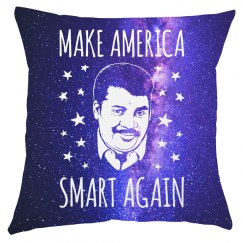 Science Smart All Over Print Pillow