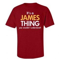 It's a James Thing