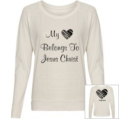 """My Heart belongs to Jesus"" Top"