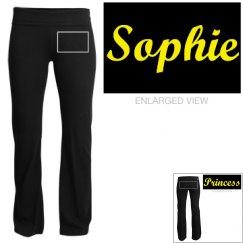 Sophie, yoga pants