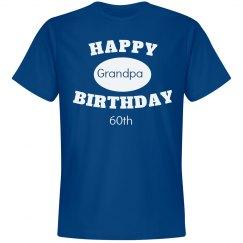 grandpa 60th birthday
