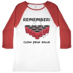 Always Clean Your Balls