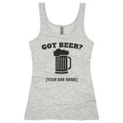 Got Beer Bar Name