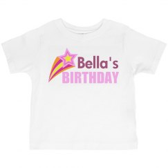 Pink Star Birthday